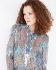 Chemises - Licht hemd met paisleyprint