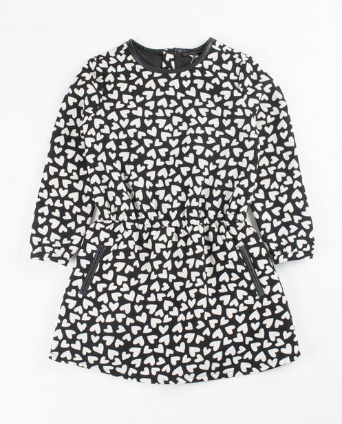 Robes - assortment - Zwarte jurk met harten