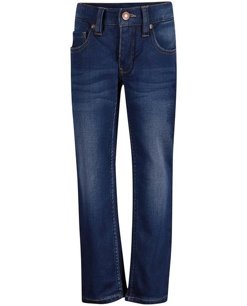 Jeans - Navy - Sweat denim jeans