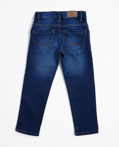 Sweat denim jeans van biokatoen