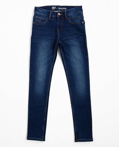 Jeans skinny bleu foncé JOEY - en sweat denim - JBC