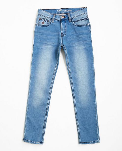 Hellblaue Slim-Jeans SIMON - Sweat Denim - JBC