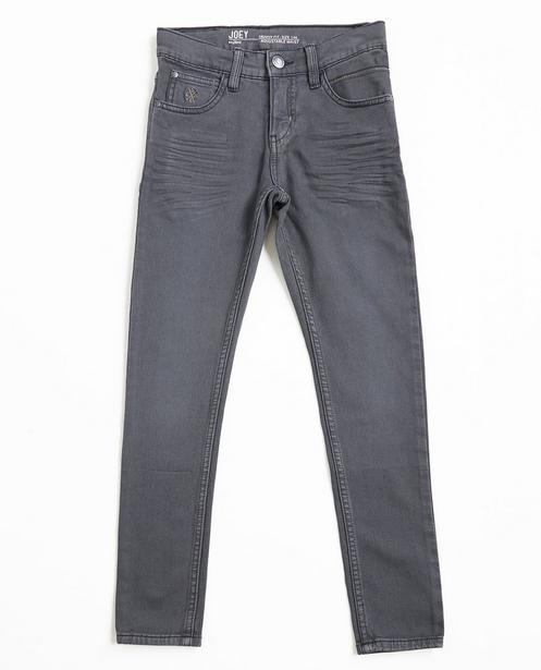 Graue Skinny-Jeans JOEY - Sweat Denim - JBC