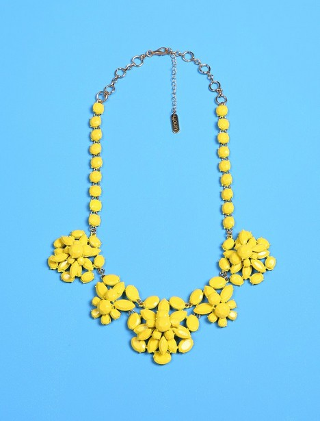 Collier avec des pierres jaunes Youh! - null - YOUH!