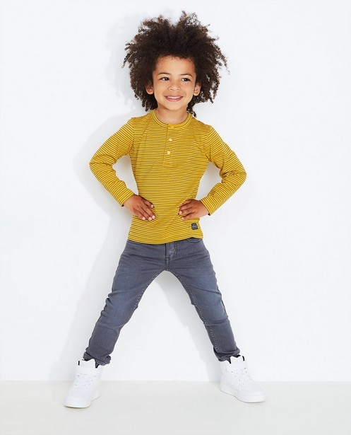 Jeans skinny gris en sweat denim JOEY - null - JBC