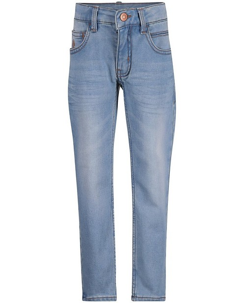 Lichtblauwe slim jeans SIMON - sweat denim - JBC