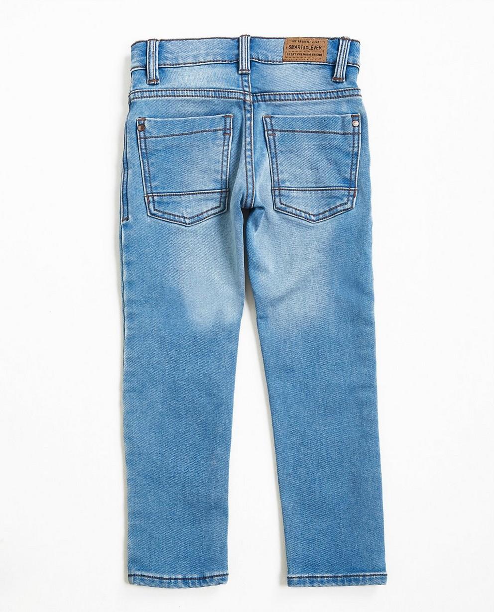 Jeans - light turquise - Jeans slim bleu ciel, sweat denim