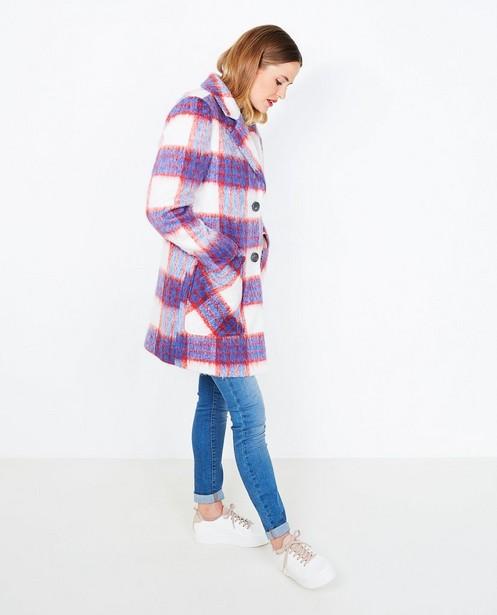 Winterjassen - Mantel met ruiten