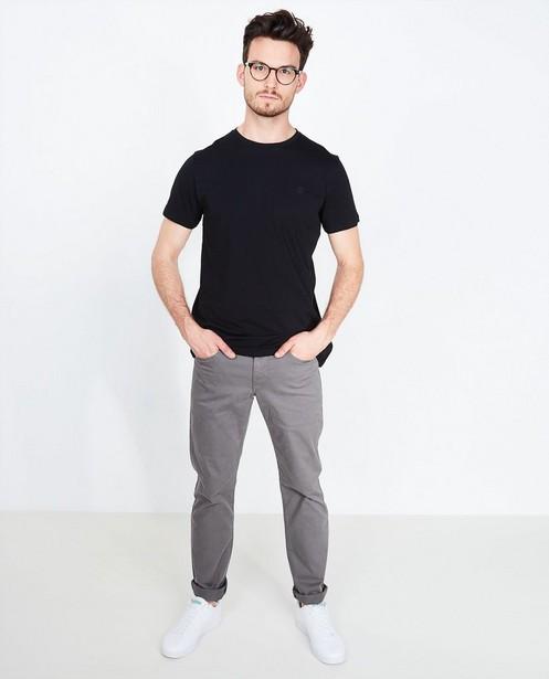 T-shirt noir - en coton bio - Tim Moore