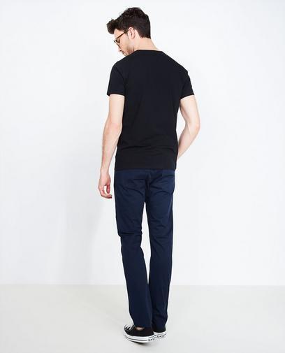Pantalon bleu profond
