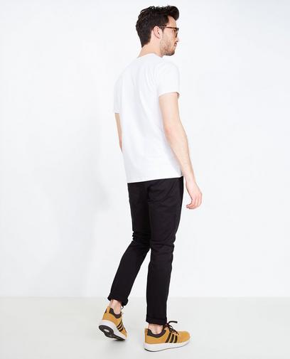 Pantalon noir en coton