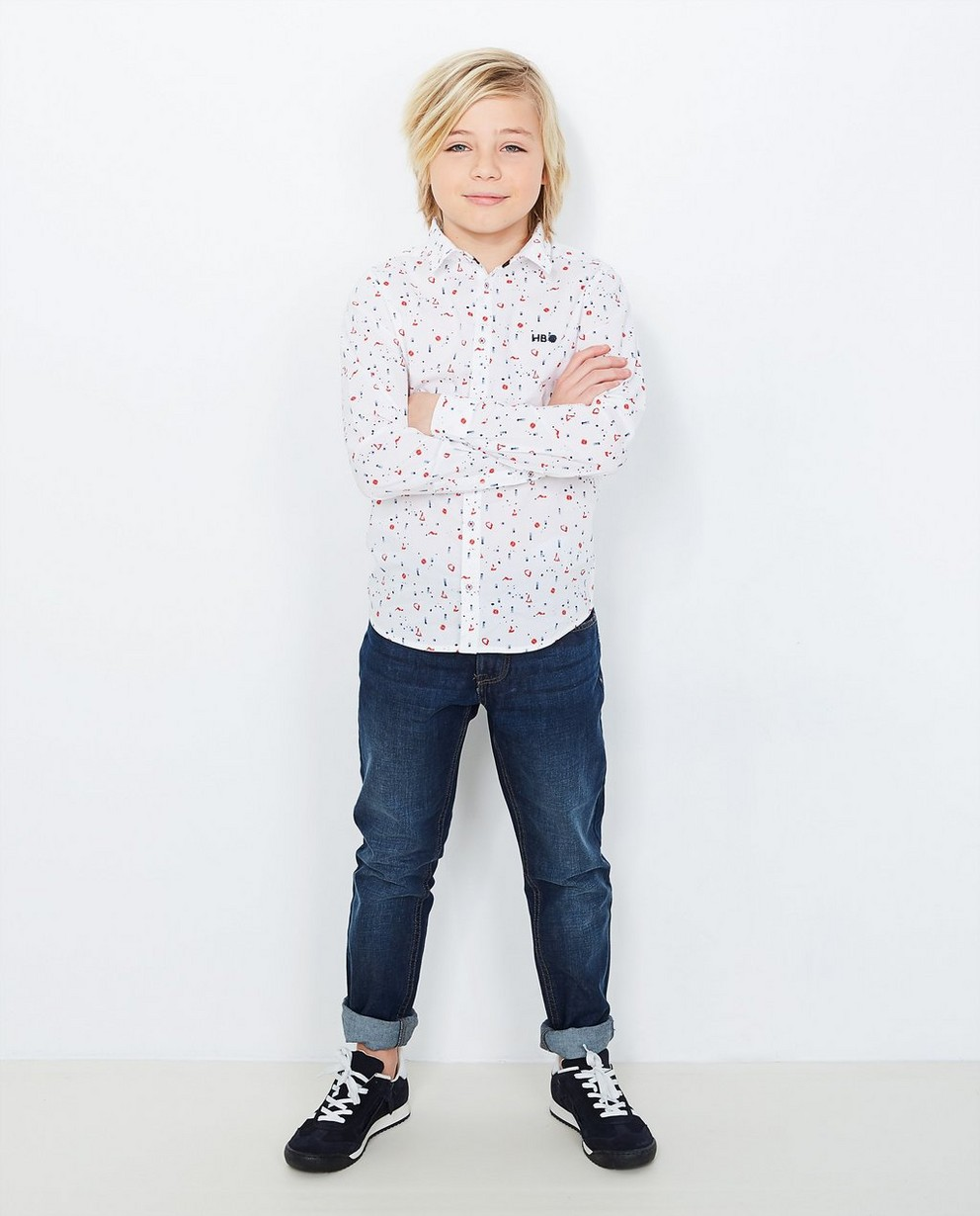 Jeans - navy - Donkerblauwe slim jeans