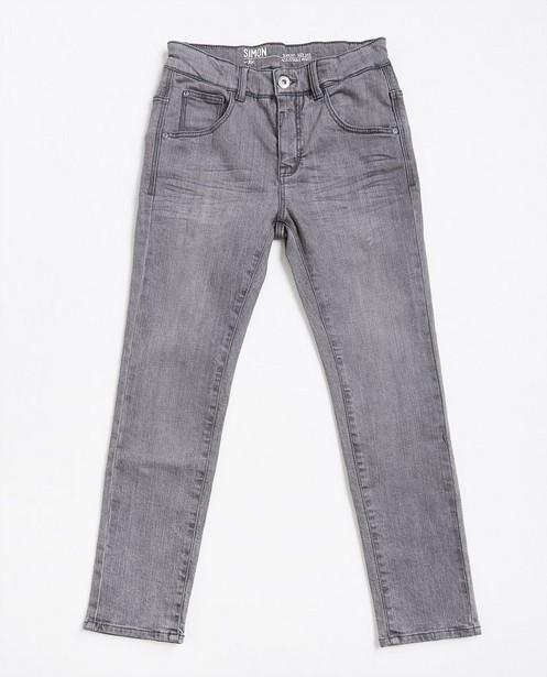 Grijze slim jeans - null - JBC