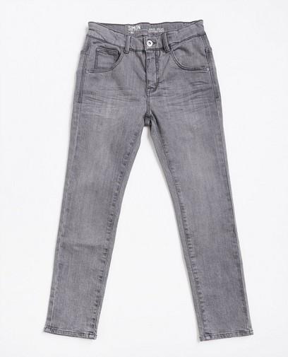 Grijze slim jeans