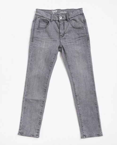 Graue Slim-Jeans - mit leichter Waschung - JBC