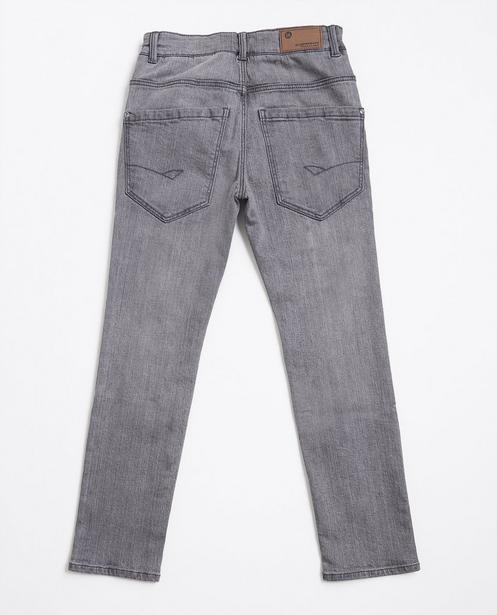 Jeans - Grau - Grijze slim jeans