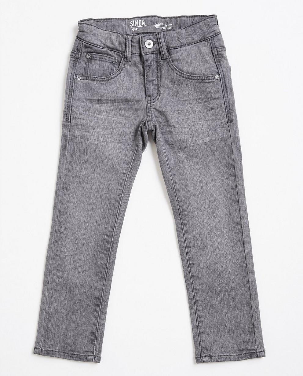 Jeans - grey - Grijze slim jeans