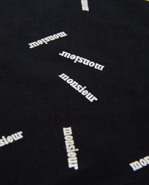 T-shirts - Zwart T-shirt #familstoriesjbc