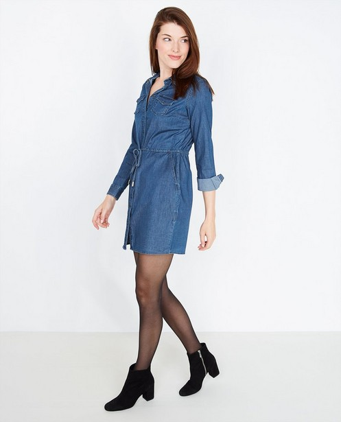8bc0b1f008d410 Hemdjurk met sierstenen - van jeans - JBC. Kleedjes - BLL ...