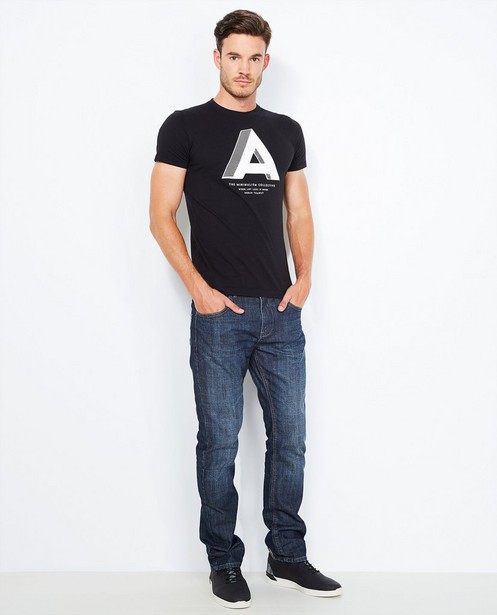 Jeans bleu foncé - délavé - Quarterback
