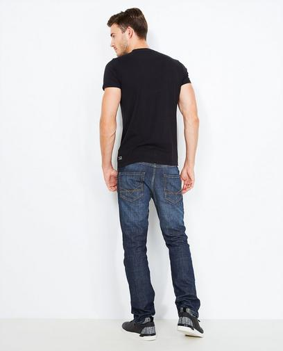 Verwassen jeans, regular fit