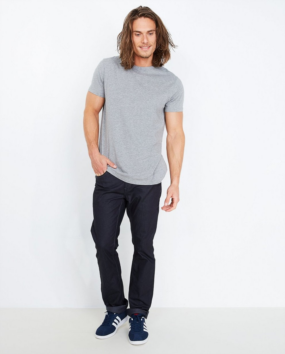 Jeans noir - fitted straight - Quarterback