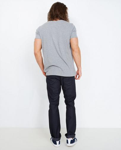 Zwarte fitted straight jeans