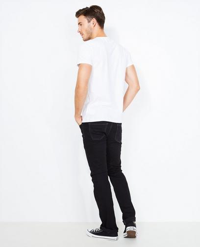 Zwarte biokatoenen jeans