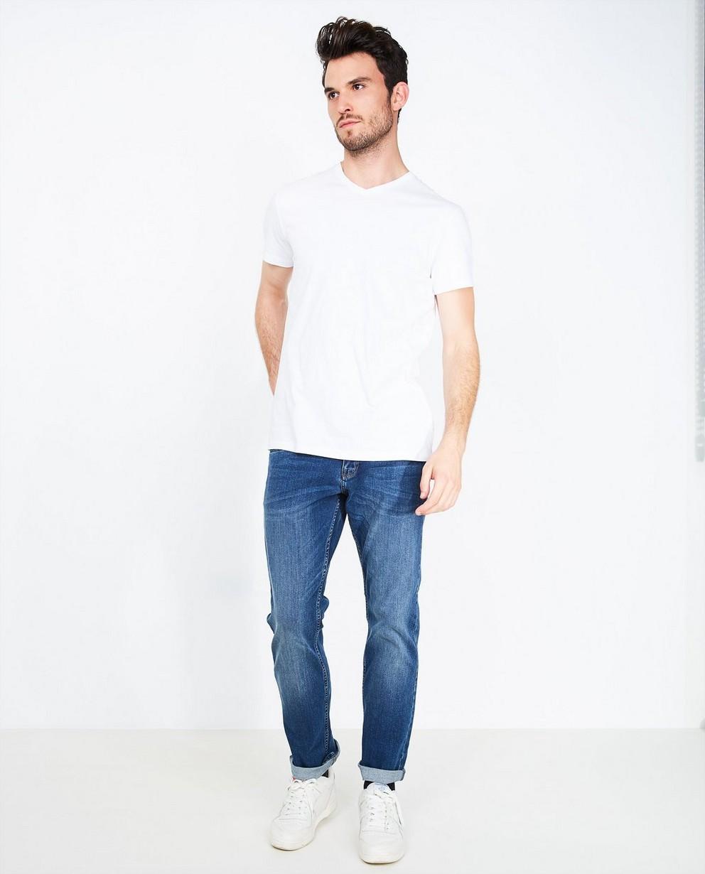 Jeans - aqua - Blauwe biokatoenen jeans