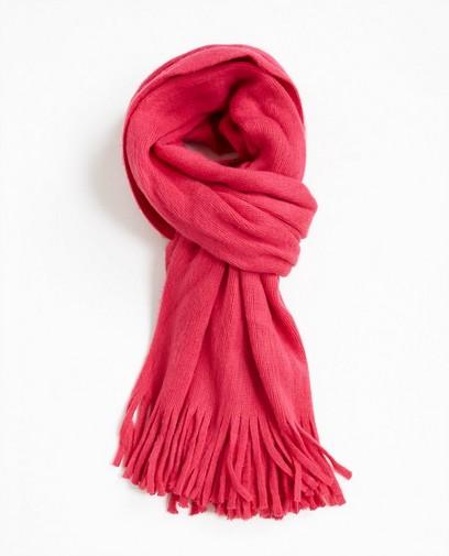 Fluoroze sjaal met franjes