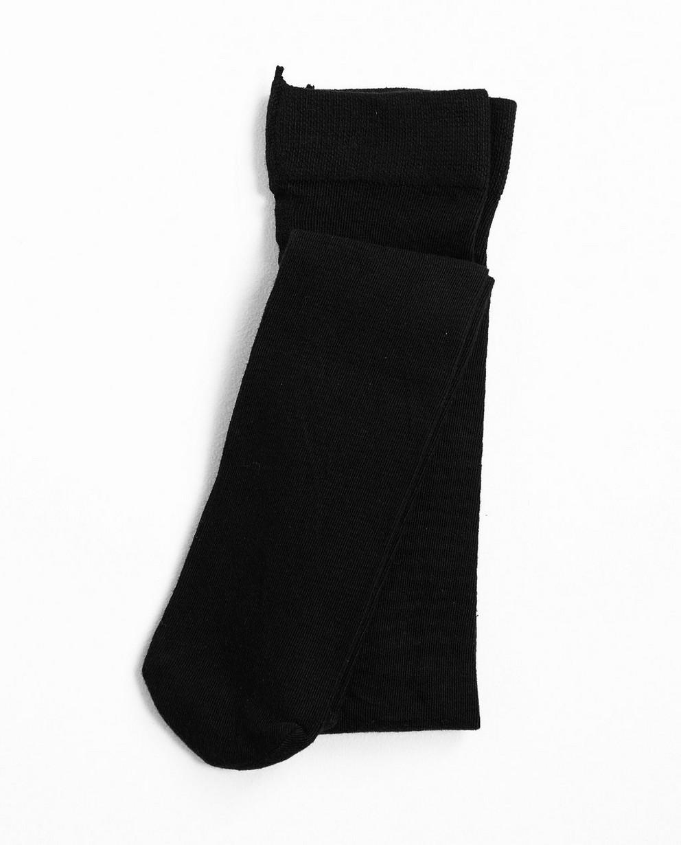 Collant noir - en coton mélangé stretchy - JBC