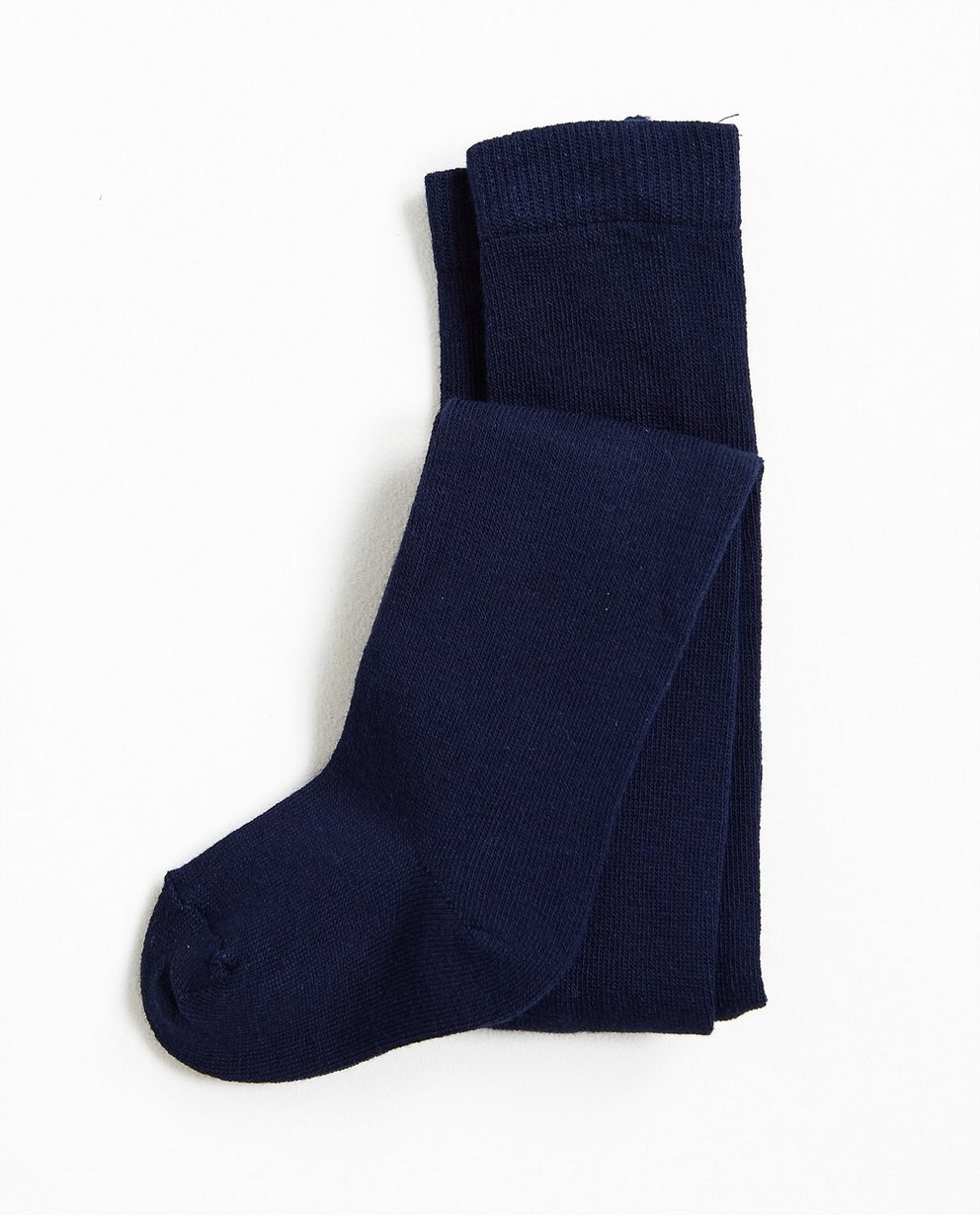 Collant uni - en coton mélangé stretchy - JBC