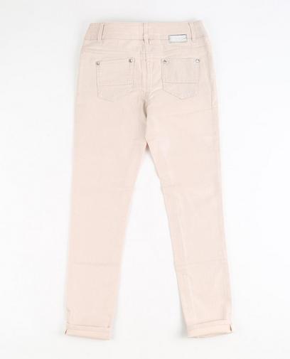 Lichtroze jeans