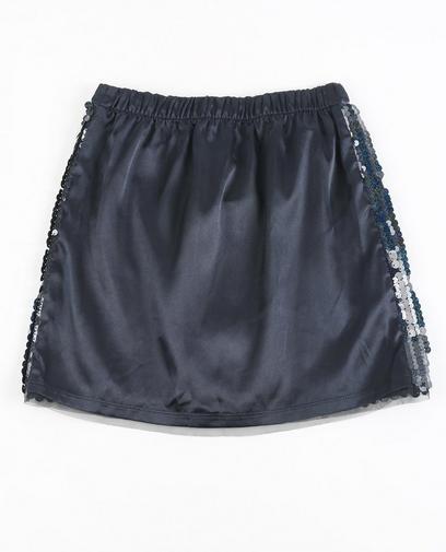 nachtblauwe rok