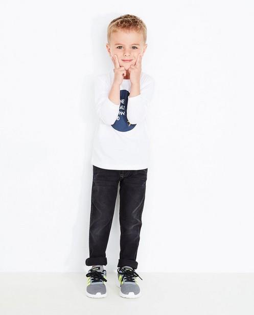 Schwarze Skinny-Jeans - verwaschen - JBC
