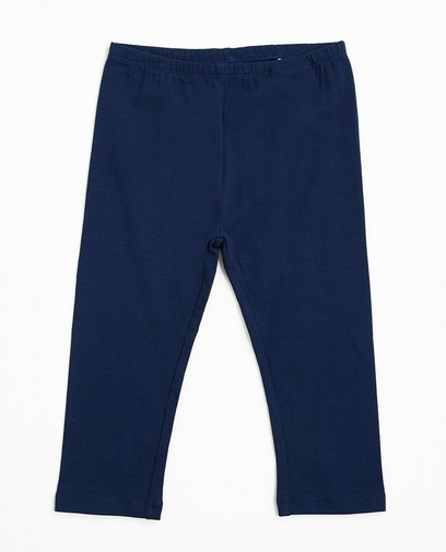 Marineblaue Leggings