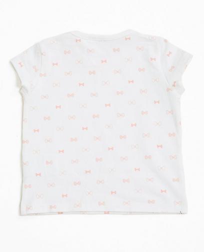T-shirt blanc en coton bio