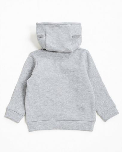 Hoodie gris clair