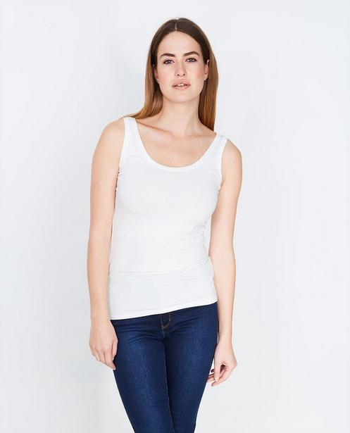 T-shirts - WTM - Roomwitte basic top