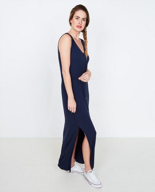 Zwarte maxi-jurk - met viscose - JBC