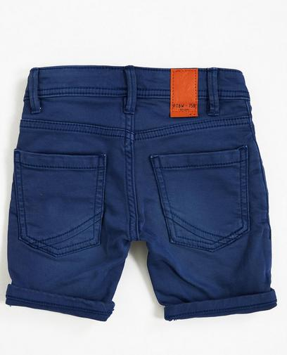 Shorts aus Sweat-Denim