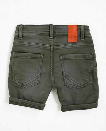 Short van sweat denim