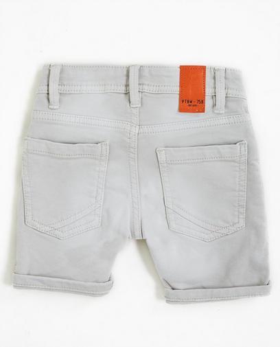 Shorts aus Sweat-Denim