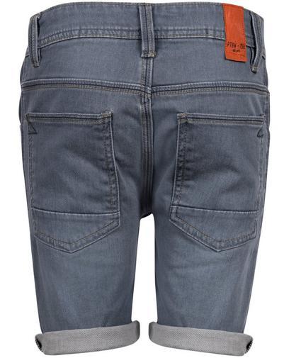 Donkerblauwe jeansshort
