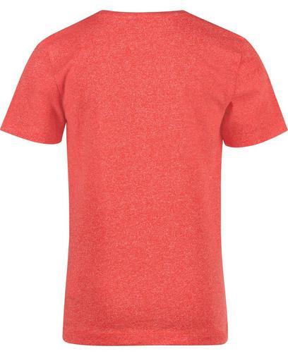 Blauw gespikkeld T-shirt