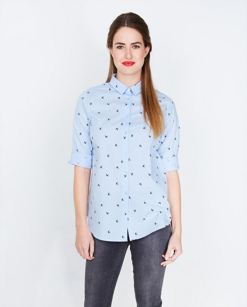Hemden - ASM - Hemelsblauw hemd