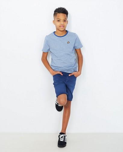 Blauw gestreept T-shirt