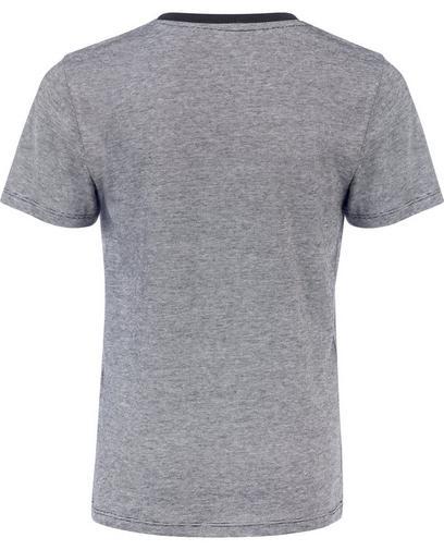 Schw., gestreif. T-Shirt
