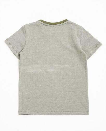 T-shirt met patch