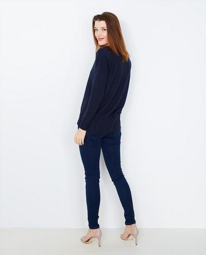 Nachtblauwe trui
